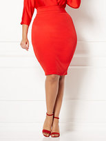 New York & Co. Eva Mendes Collection - Tyra Pencil Skirt - Plus