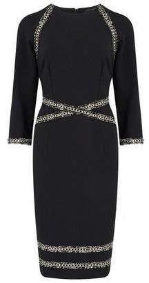 Dorothy Perkins Womens **Paper Dolls Black Bodycon Dress, Black