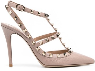 Valentino Rockstud Caged point 110cm pumps