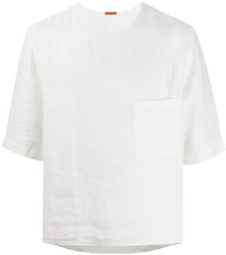 Barena boxy-fit linen T-shirt