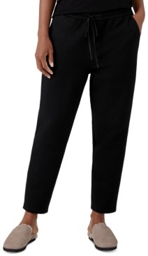 Eileen Fisher Organic Pull-On Ankle Pants