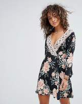 Billabong Floral Printed Beach Dress