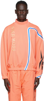 Reebok by Pyer Moss Pink Loose Mock Neck Pullover