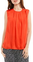 Vince Camuto Women's Sleeveless Rumple Blouse