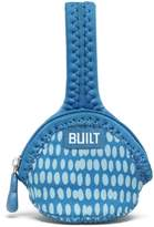 Built NY Single Pacifier Holder Dribble Dots (Blue)