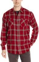 Wrangler Men's Big and Tall Long Sleeve Flannel Shirt