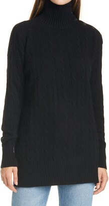 Polo Ralph Lauren Button Shoulder Turtleneck Sweater