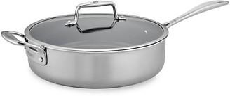 Zwilling J.A. Henckels Zwilling Clad CFX 5-Quart Stainless Steel Ceramic Nonstick Saute Pan