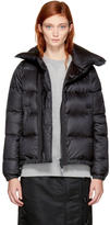 Sacai Black Down Nylon Jacket