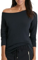 Lauren Ralph Lauren Drop Shoulder Jersey Top