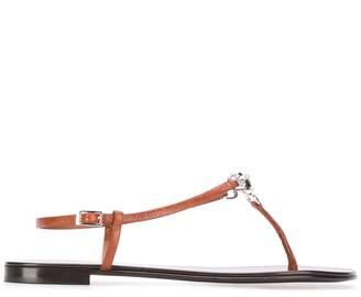 Giuseppe Zanotti Faux-Gem Embellished Strappy Sandals