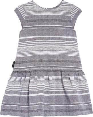 TINY TRIBE Stripe Drop Waist Dress