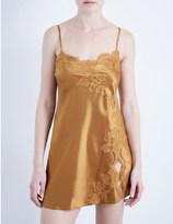 Marjolaine Tentation silk-satin chemise