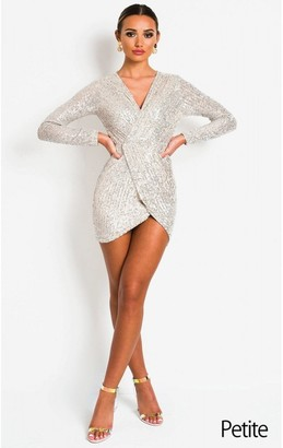 IKRUSH Case Sequin Embellished Dress