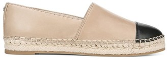 Sam Edelman Krissy Cap-Toe Leather Espadrilles