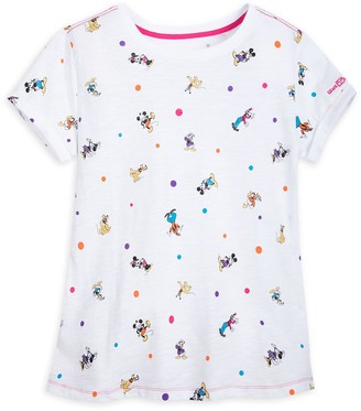 Disney Mickey Mouse and Friends Cap Sleeve T-Shirt for Women Walt World