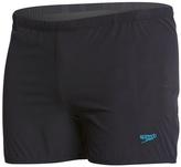 Speedo Men's Embossed Geo Square Leg Swimsuit 8149508