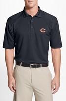 Cutter & Buck Men's Big & Tall Chicago Bears - Genre Drytec Moisture Wicking Polo
