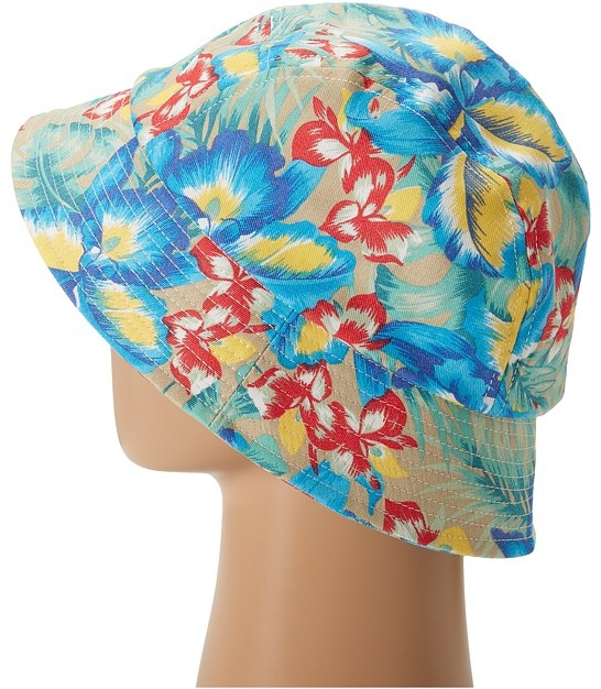 San Diego Hat Company CTH3688 Floral 5 Panel Bucket