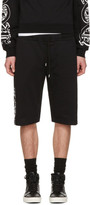 McQ by Alexander McQueen Black Dart Lounge Shorts