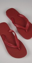 Top Flip Flops in Red