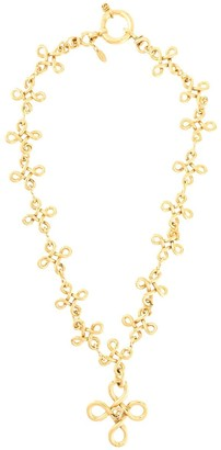 Chanel Pre Owned 1993 CC loops long necklace