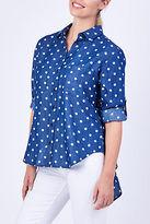 ELM NEW Womens Blouses Going Dotty Shirt