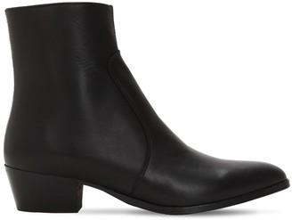 Everyday Hero 45mm Zimmerman Zip-up Leather Boots