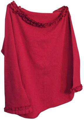 Chantal Thomass \N Red Cotton Top for Women