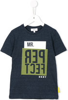 DKNY Mr Perfect print T-shirt - kids - Cotton/Polyester - 4 yrs