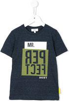 DKNY Mr Perfect print T-shirt - kids - Cotton/Polyester - 4 yrs