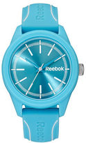 Reebok Blue Silicone Strap Watch