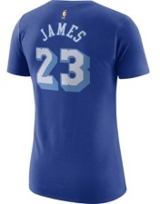 Nike Women's Los Angeles Lakers Hardwood Classics Player T-Shirt - LeBron James