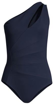 Chiara Boni Ani One-Shoulder One-Piece Swimsuit