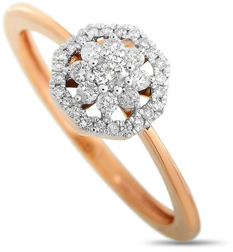 Non Branded Lb Exclusive 14K Rose Gold 0.25 Ct. Tw. Diamond Ring