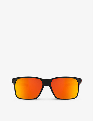 Oakley OO9460-0559 Portal X O Matter&trade rectangular-framed sunglasses