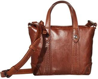 Frye Melissa Mini Crossbody Shopper (Beige) Cross Body Handbags