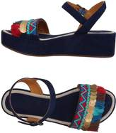 Coral Blue Sandals - Item 11385868