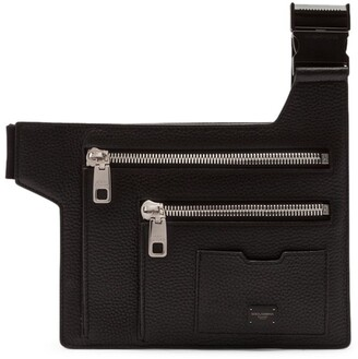 Dolce & Gabbana Leather Flat Palermo Belt Bag