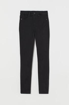 H&M Curvy High Waist Jeggings - Black