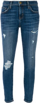 Current/Elliott ripped skinny jeans - women - Cotton/Elastodiene/Polyester - 24
