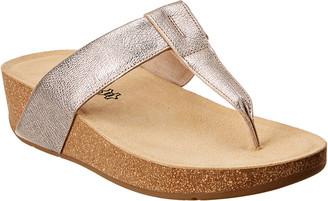 Paul Green Aries Leather Thong Sandal