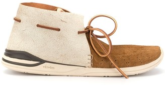 Visvim stitch detail shoes