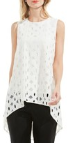 Vince Camuto Women's High/low Cable Lace Top