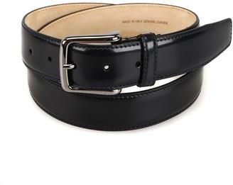 Tod's Logo Engraved Buckle Belt