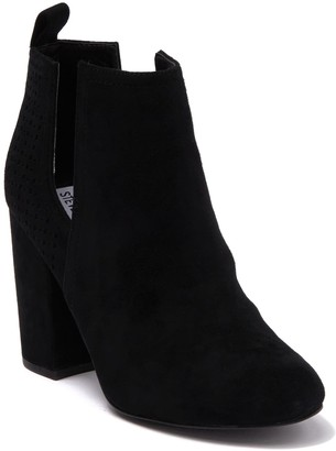 Steve Madden Norelle Perforated Suede Ankle Boot