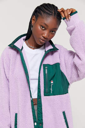Champion UO Exclusive Sherpa Coach Jacket