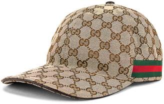 Gucci Cap in Brown | FWRD