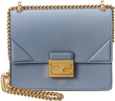 Fendi Kan U Small Leather Shoulder Bag
