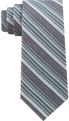 Calvin Klein Men Layered Stripes Tie